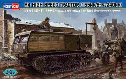 HobbyBoss M4 High Speed Tractor 155mm 8-in240mm Ätzteile 1:35 Modell-Bausatz kit