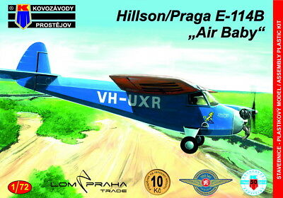 "Models & Kits Toys & Hobbies Kovozavody Prostejov 1/72 Hilson/praga E-114b ""air Baby"" # 7294 Suitable For Men And Women Of All Ages In All Seasons"