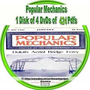 Popular-Mechanic-Magazines-PDF-Henry-Haven-Windsor-4-DVDs-1st-in-Series-of-3