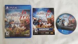 Blood Bowl 2 - PlayStation 4 PS4 Game - Football Complete CIB Tested & Working