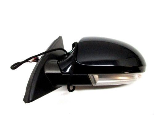2010 VW PASSAT DOOR MIRROR DRIVER LEFT SIDE BLACK 3C0 857 933 OEM 06 07 08 09 10