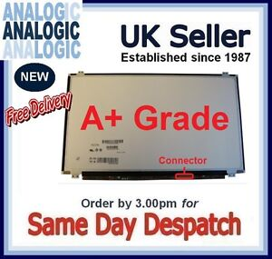 """New AUO B156XWO4 V.8 LCD Screen LED for Laptop 15.6/""""  HD Display Glossy"""