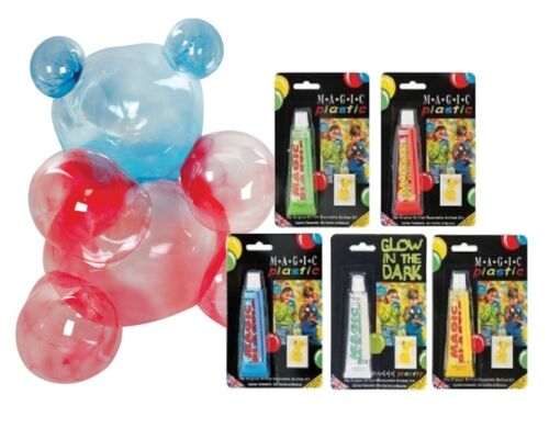 Magic Plastic Balloon Modelling Inflating Plastic Bubble Sculpting Toy Fun 15026
