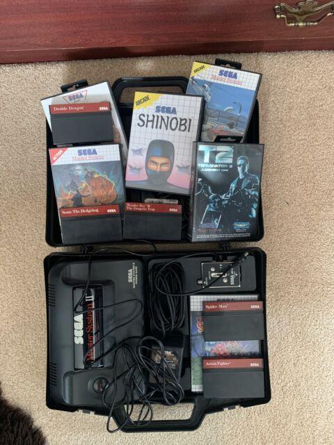 SEGA Master System II Black Console (PAL)