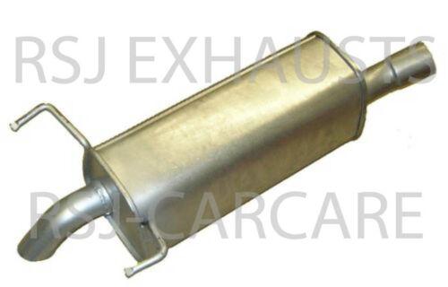 B A05 1.9 CDTI  2005-07-/> 2014-11 EXHAUST SILENCER VAUXHALL ZAFIRA Mk II
