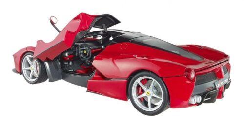 Hot Wheels Elite Ferrari Laferrari 2013 Rosso BCT79 1//18 Edizione Limitata Rara