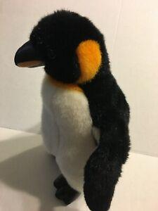 Unbranded-Black-Yellow-And-White-Penguin-14-034-Plush-Stuffed-Animal