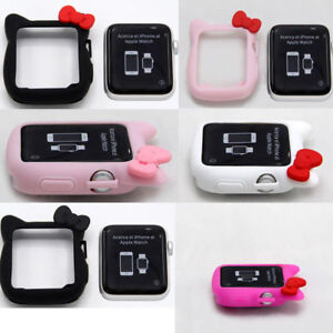 33a7154be Image is loading Hello-kitty-For-Apple-Watch-iwatch-Silicone-Series-