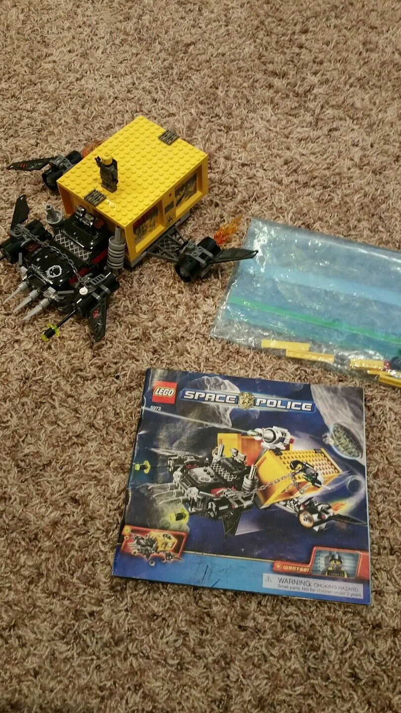 LEGO 5972 SPACE POLICE 100% complete