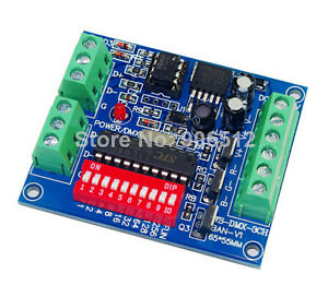 DMX512-Decoder-3CH-Channel-15A-RGBW-Controller-LED-stage-lighting-CMOS-Output