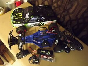 Traxxas Slash 1:10 2WD Short course Truck with UP GRADES