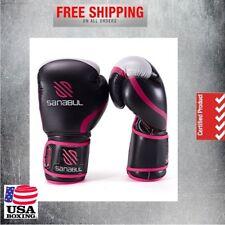 Buy Sting Women's Aurora Boxing Gloves – Black/pink 10 Oz online | eBay