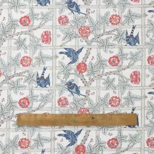 William-Morris-enrejado-de-Peso-Pesado-Algodon-Tela-Floral-por-el-medio-metro