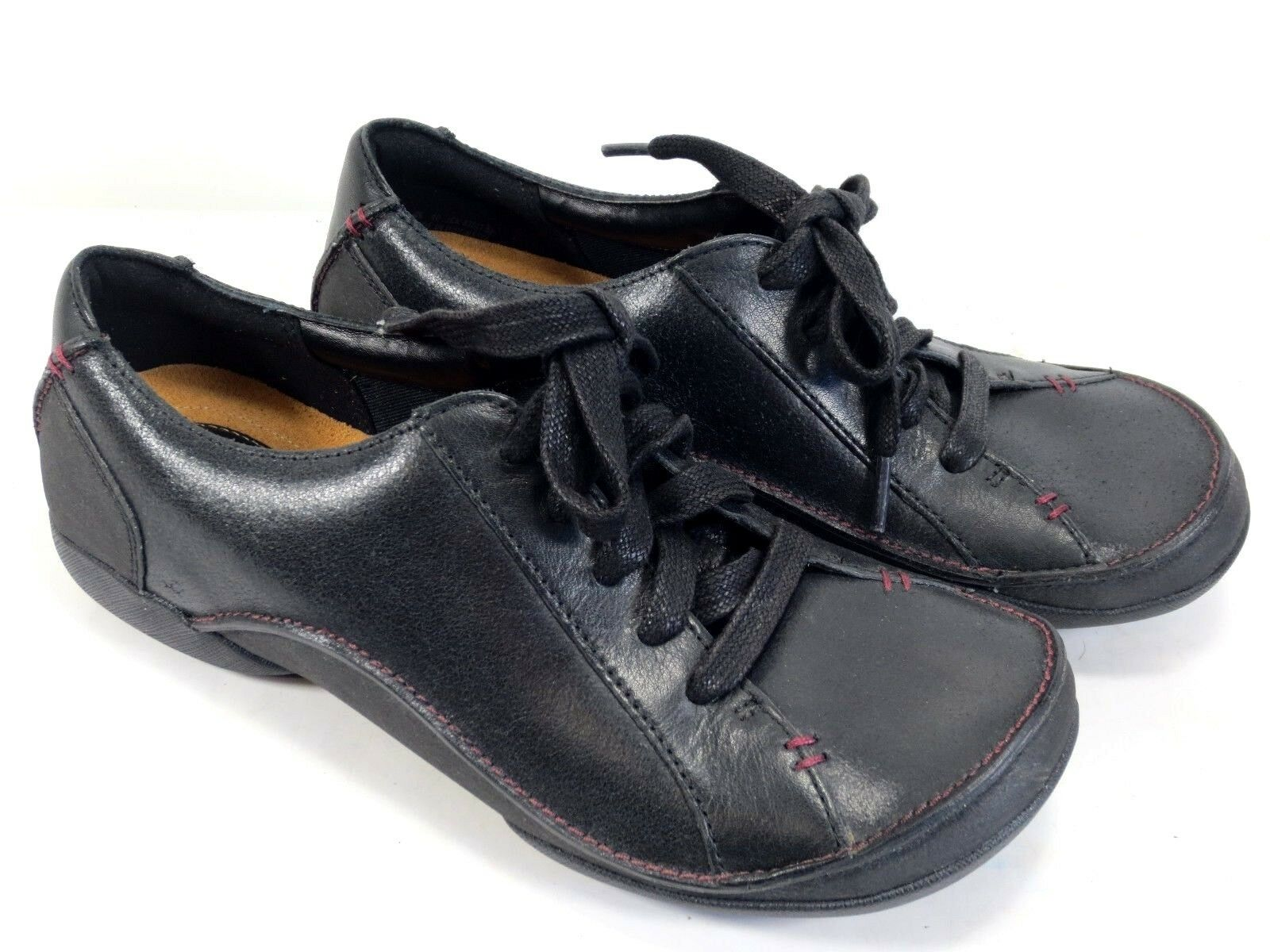 CLARKS Felicia Alice weiche Leder Schuhe Turnschuhe Halbschuhe Komfort NEU 99,95