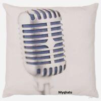 Ikea Gunlog Microphone Cushion Cover Pillow Cover 20x20 Cotton Velvet