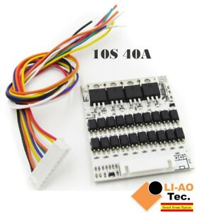 10S-36V-Li-ion-Lithium-Cell-40A-18650-Battery-Protection-BMS-PCB-Board
