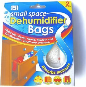 Image Is Loading Dehumidifier Bags Sachets Interior Drawer Wardrobe Damp Mould