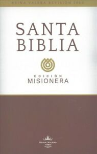 Santa-Biblia-Holy-Bible-Reina-Valera-Revisada-1960-Edicion-Misionera-Pa
