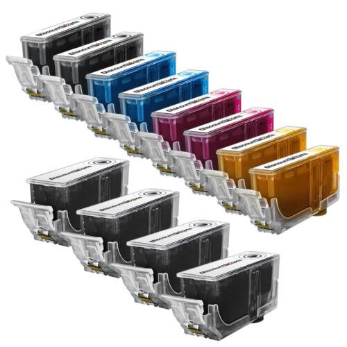 12 PGI-220 CLI-221 Black /& Color Printer Ink Cartridge for Canon PIXMA MP640R