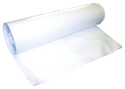 17 FT 7 Mil Shrink Wrap-DS-177031W environ 9.45 m X 31 FT environ 5.18 m blanc