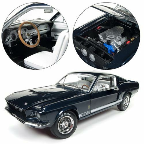 American Muscle NEW * 1967 Ford Shelby GT 500 * AM1111 Blue 1:18 Die-Cast Car