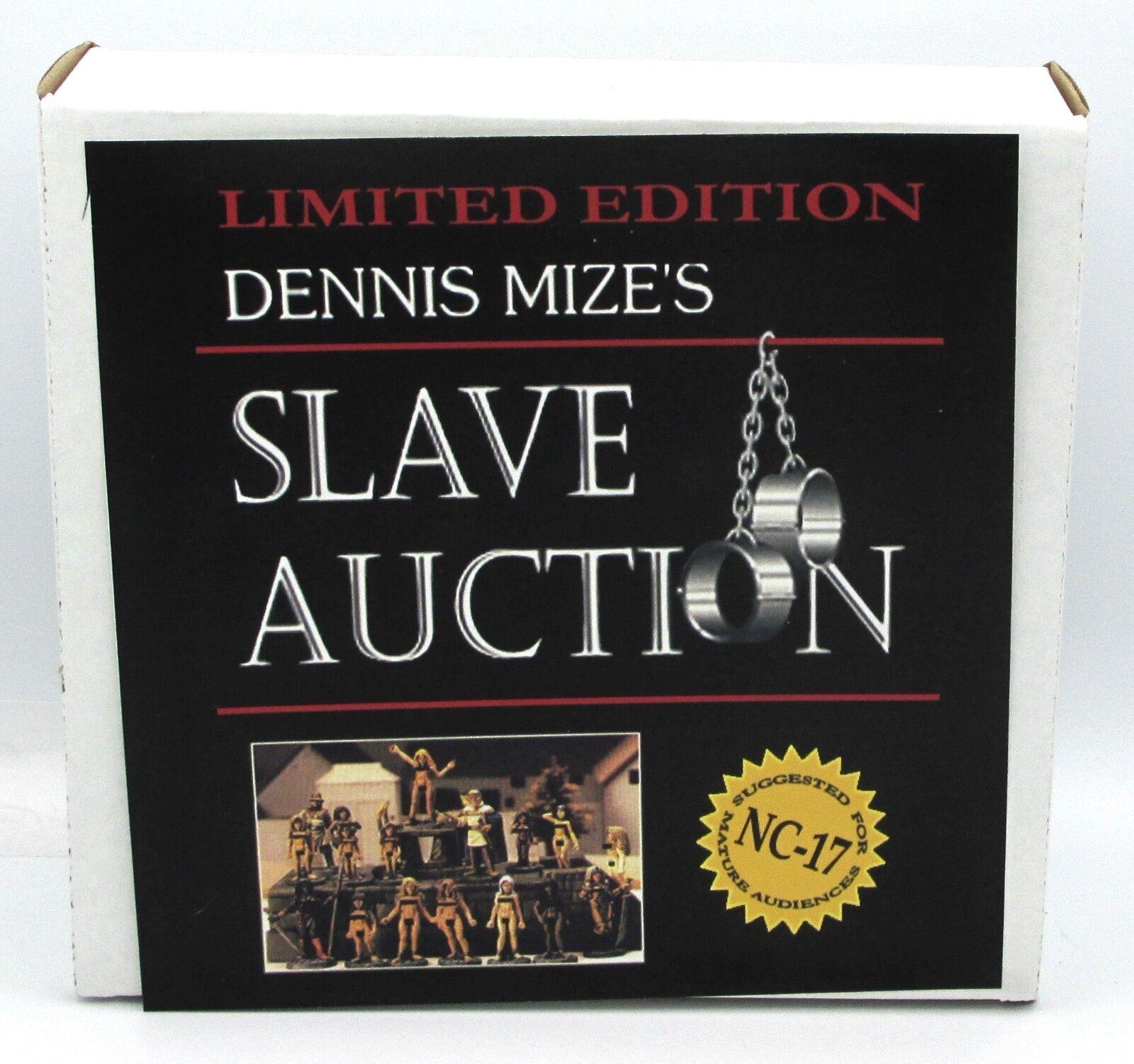 Ral Partha 01-506 Dennis Mize's Slave Auction Female Captives Prisoners Guards