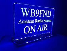 Amature radio call signs