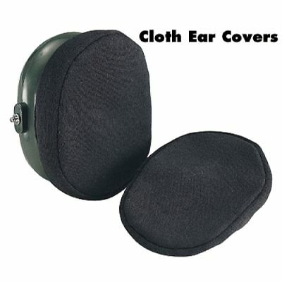 Deluxe Cotton Ear Muff Covers / Hearing Protection