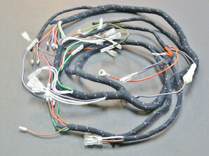 s l300 wiring harness main wire 1971 72 triumph t120 tr6 bsa a65 uk made  at panicattacktreatment.co