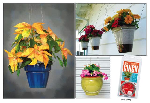 Charmant CINCH Adjustable Plant Hanger Flower Pot Bowl Holder Indoor Outdoor  Weatherproof
