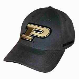 Purdue-University-Boilermakers-Adjustable-NCAA-Structured-Baseball-Ball-Cap-Hat
