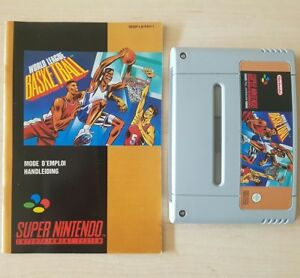 SNES-SUPER-NINTENDO-WORLD-LEAGUE-BASKETBALL-MANUAL-PAL-SNSP-LB-FAH