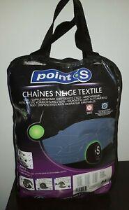 Chaussette chaine neige textile pneu Point S numéro 84 neuve