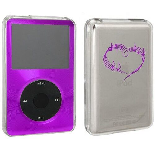 For Apple iPod Classic Hard Case 6th 80gb 120gb 7th 160gb Heart Love Music Notes