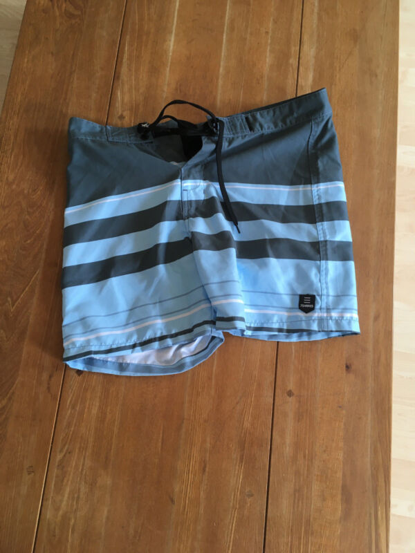 7 Shores Pantaloncini Da Surf Low Tide Blu Gr. S