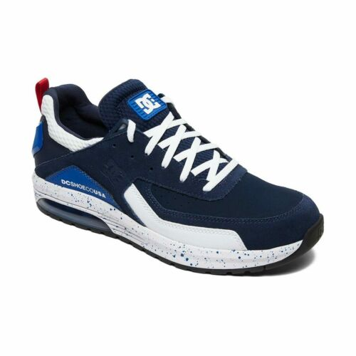White DC Shoes Vandium SE Navy