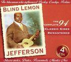 Classic Sides [Box] by Blind Lemon Jefferson (CD, Feb-2003, 4 Discs, JSP (UK))