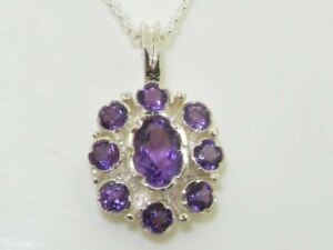 Solid-Sterling-Silver-Amethyst-Pendant-Necklace