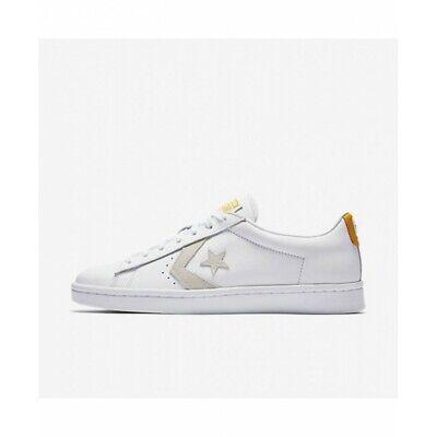 18500e6589ff Converse Pro Leather PL 76 Ox White Yellow Sneaker Men s Sizes 155322C MSRP   70
