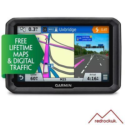 "Garmin Dezl 570LMT-D 5"" Truck Sat Nav - Europe - Free Lifetime Maps & D Traffic"