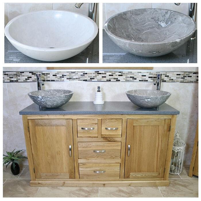 Rovere MASSELLO Armadietto bagno Mobiletto doppia ciotola ciotola ciotola di marmo rubinetto lavabo Plug 603 Multi 57202d