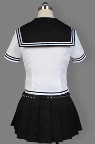 Danganronpa Ibuki Mioda Cosplay Costume School Uniform Outfit Suit Full Set