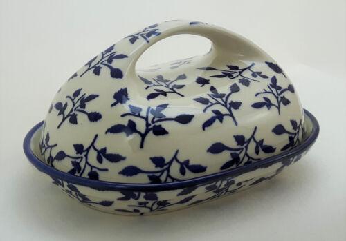 Bunzlauer Keramik Butterdose Butterglocke für 250g Butter, M077-LISK