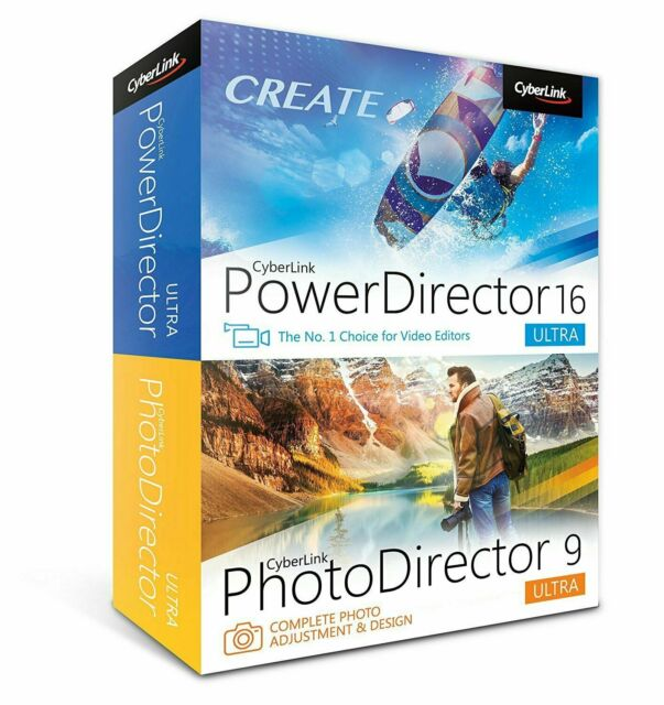 CyberLink PowerDirector 16 Ultra & PhotoDirector 9 Ultra Duo on Steam