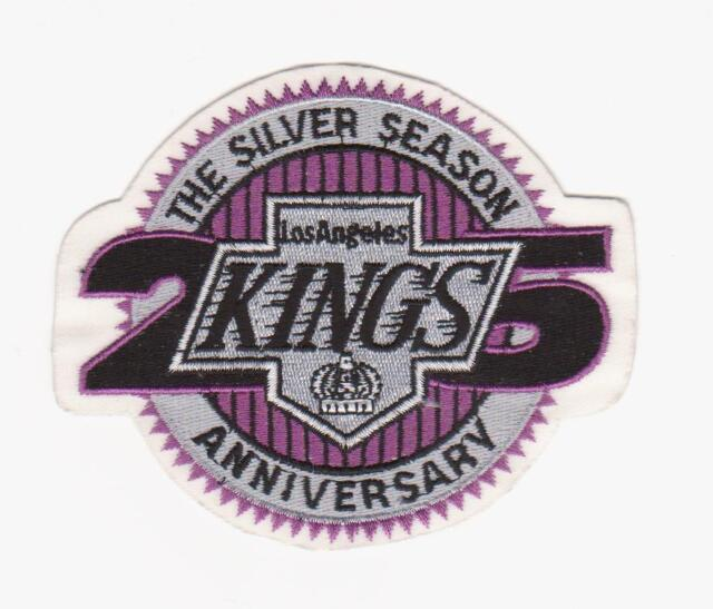 buy online 7637d 628f1 NHL LOS ANGELES KINGS 25th ANNIVERSARY PATCH LA KING JERSEY PATCH