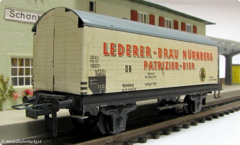 Trix Express SHEET DB autoro merci coperto Lederer-Brew