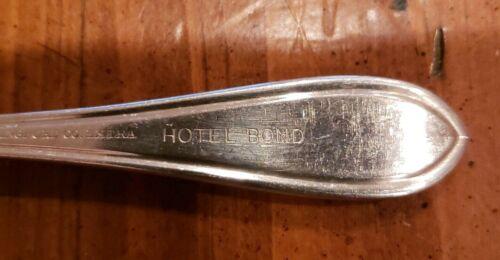 Hotel Bond HARTFORD Connecticut vintage demitasse spoon