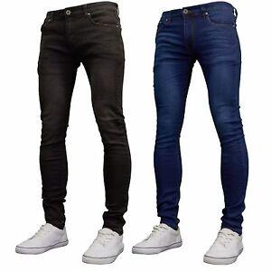 aceb9ec067d51 Image is loading Soulstar-Mens-Boys-Designer-Super-Skinny-Stretch-Jeans-