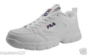 3d3922c2a24b Fila Men Disruptor SE Shoes Athletic Fashion Sneakers White Classic ...