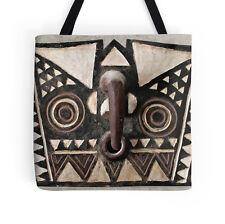 EXCLUSIVE AFRICAN DESIGN BOBO BWA HAWK MASK TOTE BAG  ~ Stunning & Stylish